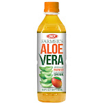 OKF AVF320 16.9 oz Farmers Aloe Drink Mango - Pack of 20