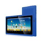 "Zeepad 7drk-q 4 Gb Tablet - 7"" - Wireless Lan - Allwinner Cortex A7 A33 1.80 Ghz - Blue - 512 Mb Ram - Android 4.4 Kitkat - Slate - 800 X"