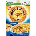 Post Honey Bunches of Oats with Almonds - 48 oz box