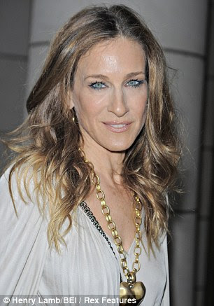 Carried away: Sarah Jessica Parker aged 23 in 1988 and at 45