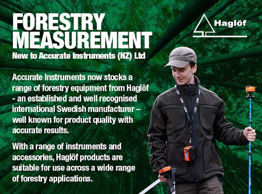 New Forestry Measurement from Haglöf