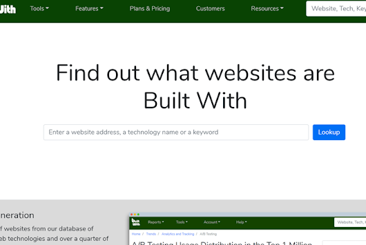 The New BuiltWith Finally Here – BuiltWith Blog
