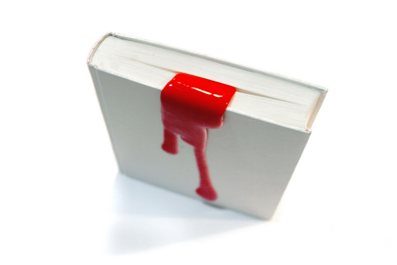designboom shop: liquid bookmark by kyouei design