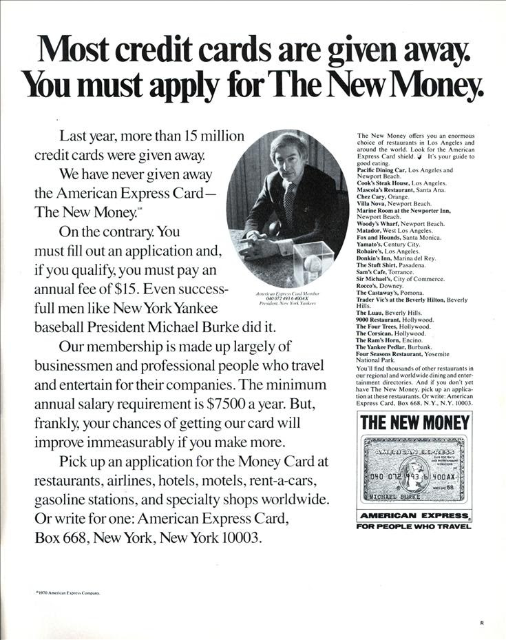 Most credit cards are given away. You must apply for The New Money. | Modern Mechanix