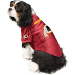 The Washington Redskins | Pet Stretch Jersey | Size S | Little Earth