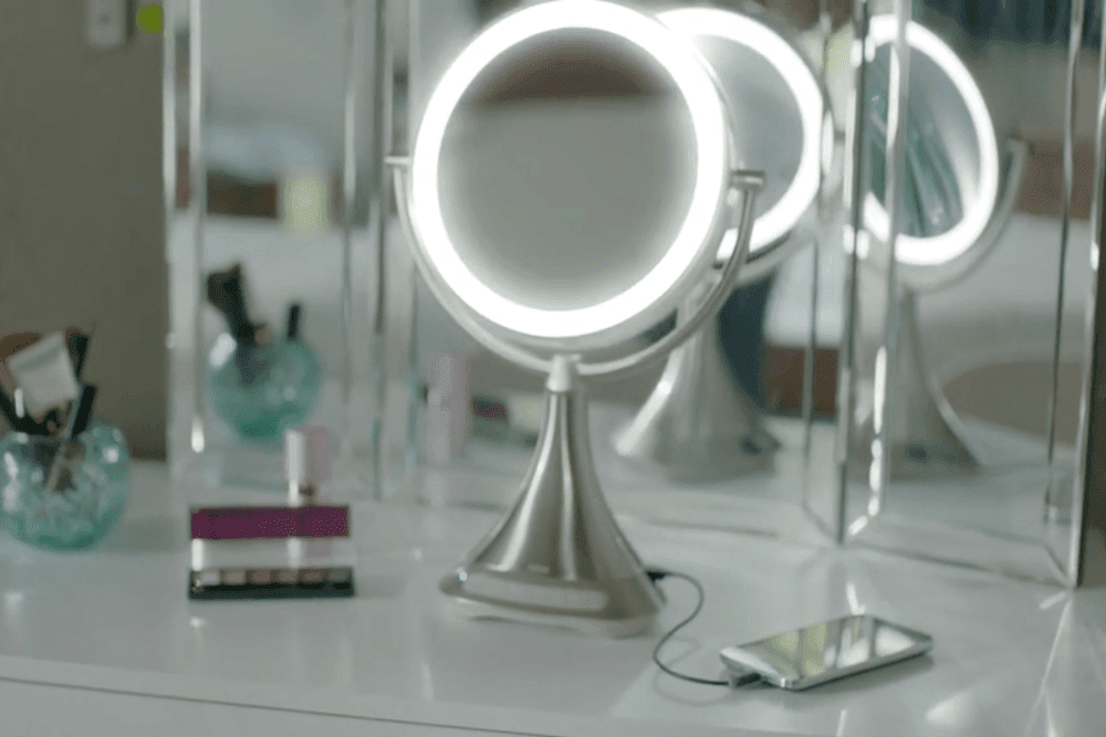 Reviewing The Ihome Vanity Mirror With Speaker And Lights Best Buy