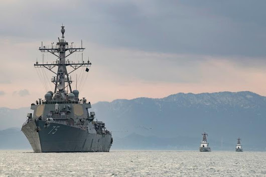 Russian Warships Shadow US Destroyer Donald Cook In Latest Naval Close Encounter