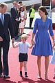 kate middleton prince william touch down in germany with george charlotte 04