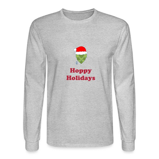 Hoppy Holidays T-Shirt | Blue Collar Brewery