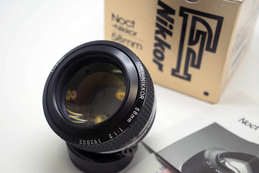 Camera Geekery: The Nikon 58mm 1.2 Nocf - Japan Camera Hunter