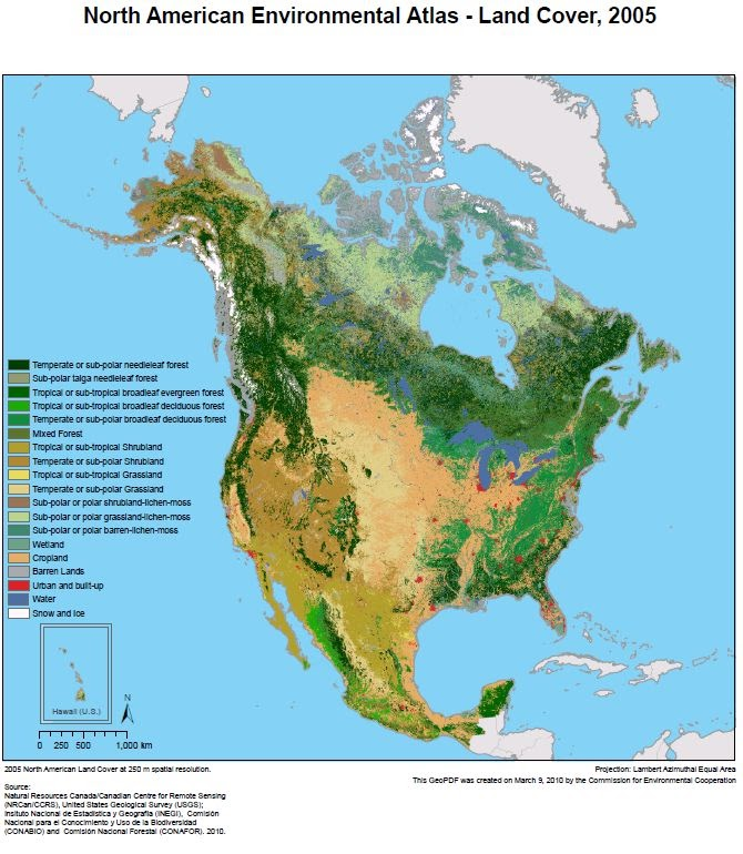 Interpretation of fire ecosystems in google earth google earth the broad concept of the land cover map is relative easy to understand and visualize the origin is primarily a landsat based cover classification gumiabroncs Choice Image