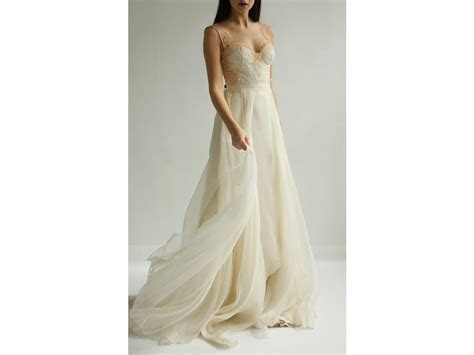 Leanne Marshall Eveline Lace and Organza , $675 Size: 2
