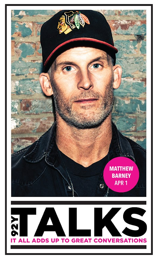 Matthew Barney Press & Poster - Samantha Marble Photography
