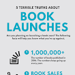 5 Terrible Truths About Book Launches (Infographic) - Book Launch