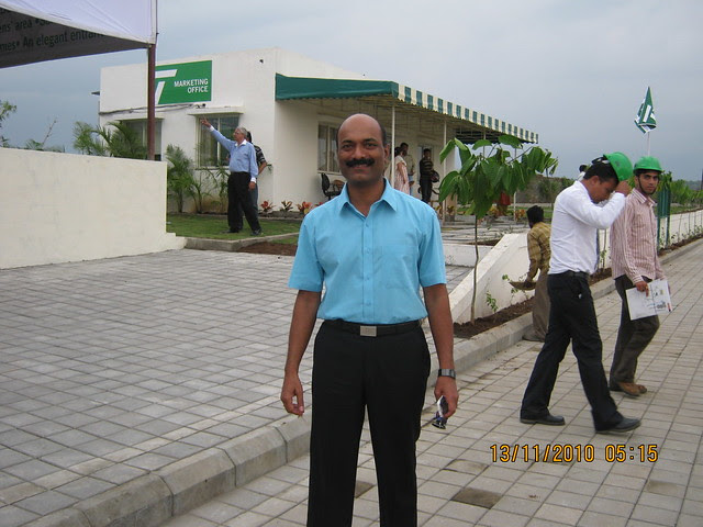 Mr. Vijay Raundal, MD of Teerth Realties, developers of Teerth Towers at Baner Sus, Pune