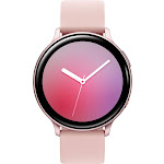Samsung - Galaxy Watch Active2 Smartwatch 44mm Aluminum - Pink Gold