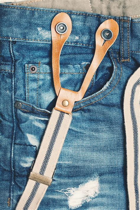 class   style  suspenders  jeans