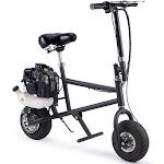 MotoTec 49cc Black Gas Mini Bike