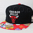 Custom Chicago Bulls Strapback -- McDonald's Happy Meal Fabric