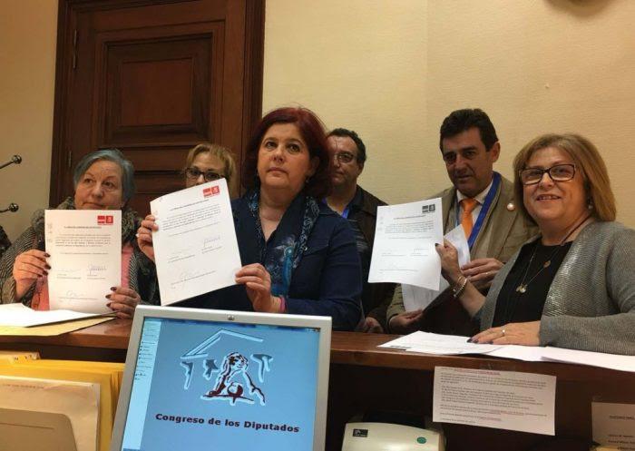 El PSOE exige al Gobierno financiar adecuadamente la atención a la dependencia