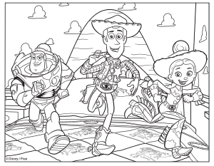 toy story coloring pages  free printable coloring page