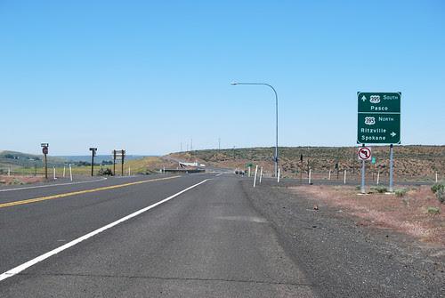 SR 21 @ US 395