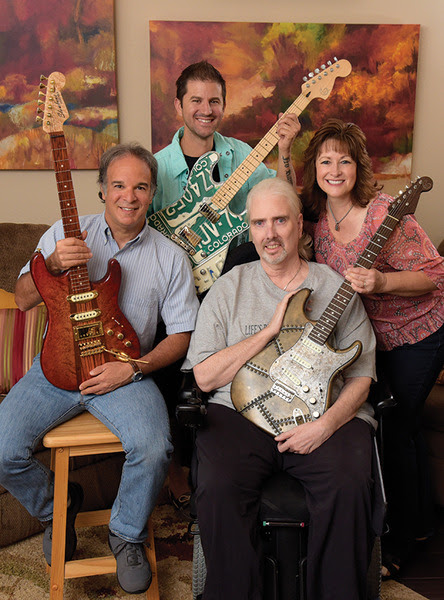 Slowlane Guitars, Crafted for Muscular Dystrophy Awareness | Style: Roseville Granite Bay Rocklin