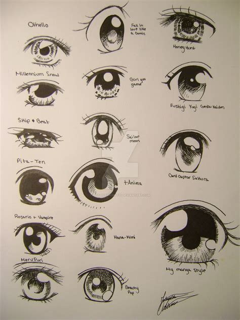 anime eye drawing  getdrawingscom   personal
