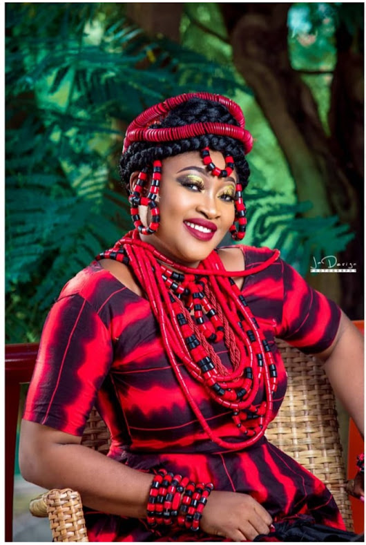 Birthday Photos of Mrs Blessing Oche,Former benue beauty