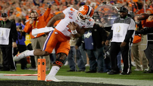 Clemson knocks off Alabama in Tampa to win national championship