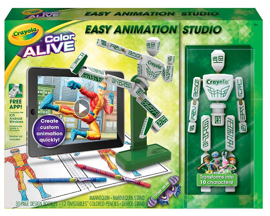 Crayola's Color Alive Easy Animation Studio - Fun Toys For Tots
