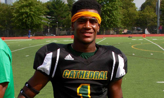 Student-Athlete Highlight: Tharzan Laurore - Cathedral 7-12 High School Boston