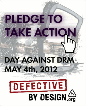 Day Against DRM vertical banner