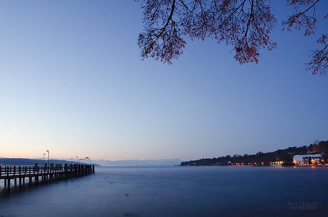 Starnbergersee at dawn