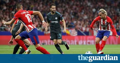 Atlético Madrid v Chelsea: Champions League – live!The Guardian Champions League (LIVE UPDATES)...