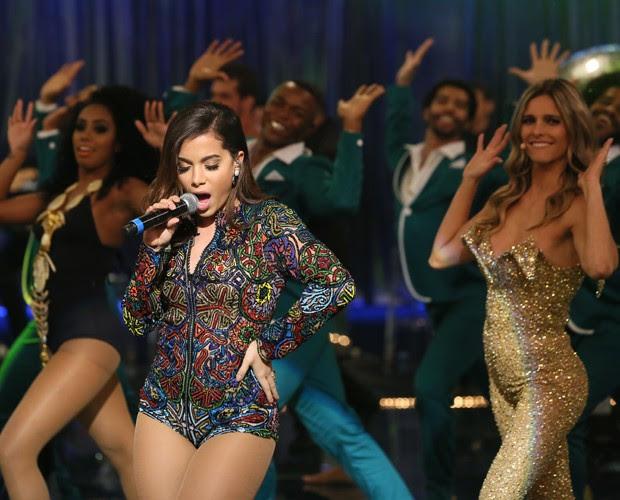 Anitta canta no Amor e Sexo (Foto: Carol Caminha/Gshow)