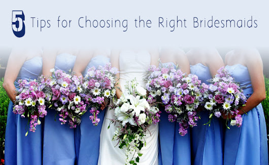 5 Tips for Choosing the Right Bridesmaids | Inspire by Weddings Kenya