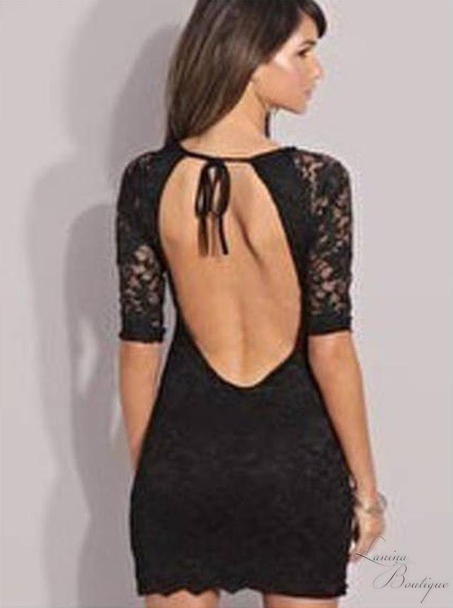 Black lace bodycon cocktail dress clubs plus