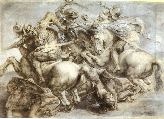 Leonardo da Vinci - The Battle of Anghiari