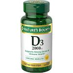 Nature's Bounty Super Strength D-2000 IU Softgels by Pharmapacks