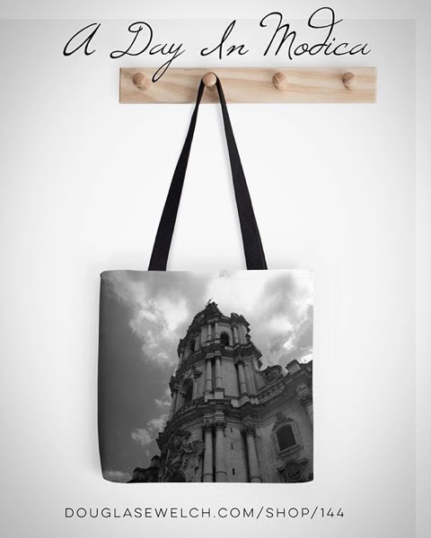My Word with Douglas E. Welch » Celebrate A Day In Modica, Sicily with these Totes and Much More!
