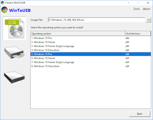 Best Windows To Go Creator to create portable Windows 10/8/7 USB drive!