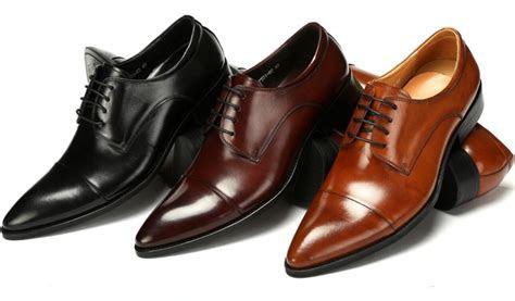 Fashion black / brown tan / brown derby shoes mens wedding