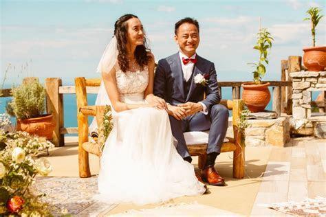 A Chinese wedding in a Greek village