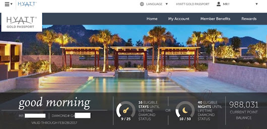 Hyatt relaunches Gold Passport web site - only a few bugs - Miles from Blighty