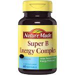 Nature Made Super B, Energy Complex, Softgels - 60 softgels