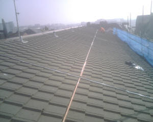 Brick Slips Installation Copper Wire For Roof Moss