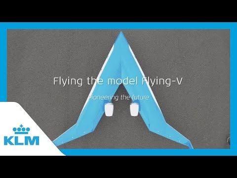 KLM e o projeto Flying-V