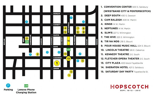 Hopscotch Music Festival Returns to Downtown Raleigh!
