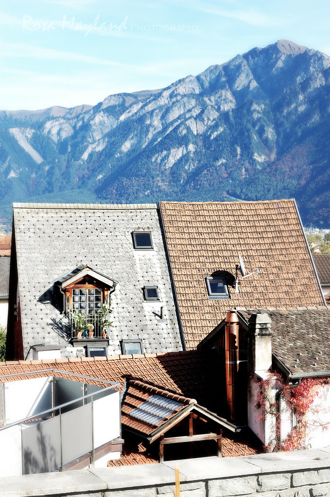 Felsberg, Graubünden (October 2013)